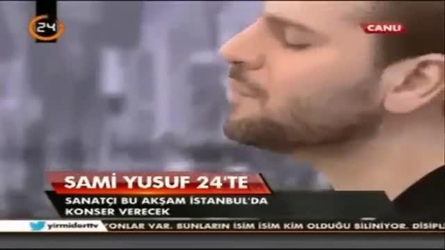 اجرای زنده آهنگی ترکی از سامی یوسف-احساسی