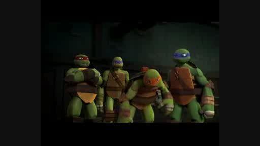 لاکپشت های نینجا 2012 از اعماق قسمت 2 دوبله فارسی