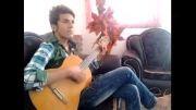 گیتار جالب-آهنگ مسیح