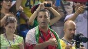 سرود ملی و مراسم قبل از بازی ایران-ایتالیا2014