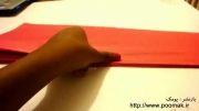 آموزش ساخت گل کاغذی (توپک کاغذی) برای تزیین تولد