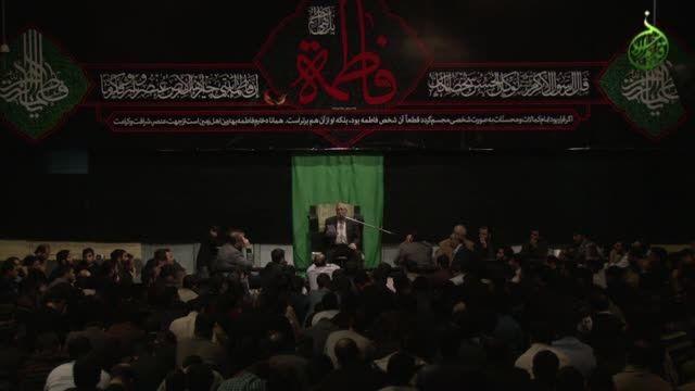 روضه حضرت زهرا (سلام الله علیها) – حاج منصور ارضی