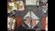 آموزش تزیین دستمال میز غذا