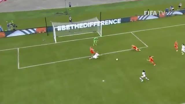 بازی : کانادا 1 - 1 هلند (جام جهانی زنان 2015 کانادا)