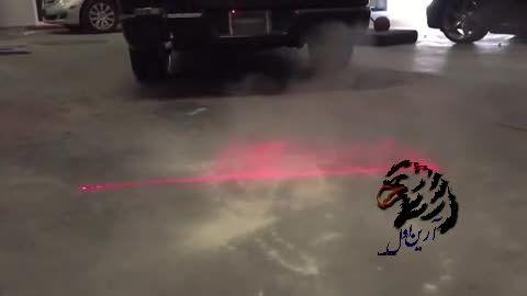 عملکرد لیزر های 300 هزار تونی برای مه شکن ها