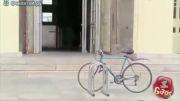دوربین مخفی جالب دوچرخه