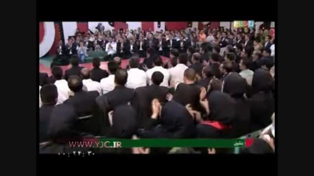شعر خواندن جناب خان برای عادل فردوسی پور