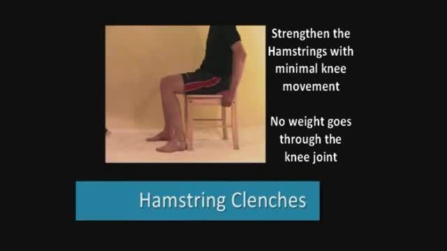 حرکات اصلاحی برای درمان زانو درد