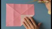 آموزش ساخت پروانه اوریگامی - اوریگامی پروانه