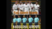 مقایسه افسانه های بارسلونا و رئال مادرید