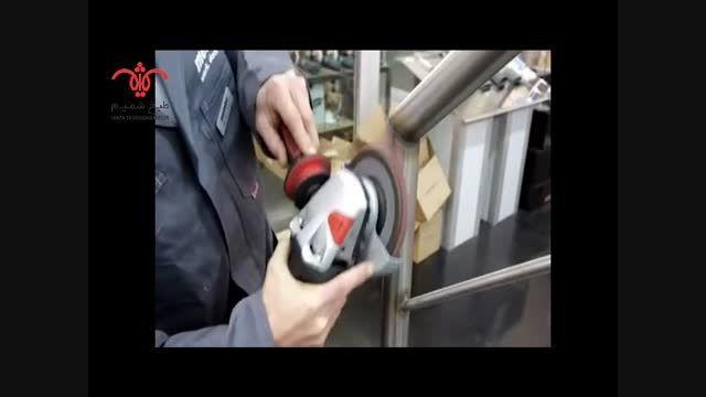پولیش تجهیزات آشپزخانه صنعتی