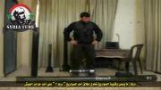 شکار یک تروریست سوری با گلوله مستقیم تانک ارتش سوریه - شکارچی شکار شد