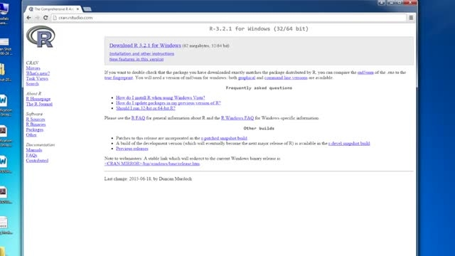 (2) آموزش زبان R - نصب R در سیستم عامل ویندوز