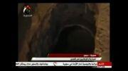 کشف پناهگاه تروریستهای سوری در حمص