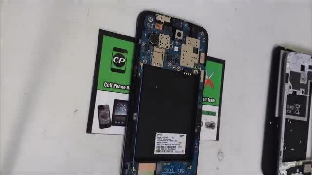 تعویض تاچ و LCD و روش باز و بسته کردن گالکسی Mega 6.3