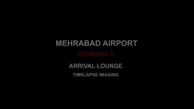 تایم لپس فرودگاه مهرآباد - ترمینال 2 ( سالن ورودی )