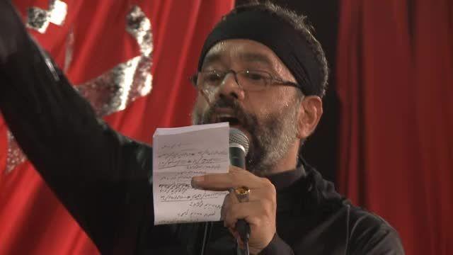 شب ششم- نفس نفس می خوانم تویی تویی درمانم- محمود کریمی