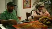 خواندن بازیگر ایرانی در شام ایرانی