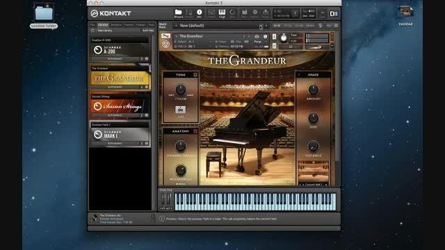 دانلود رایگان وی اس تی پیانو NI The Grandeur