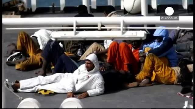دستگیری کاپیتان کشتی غرق شده در مدیترانه