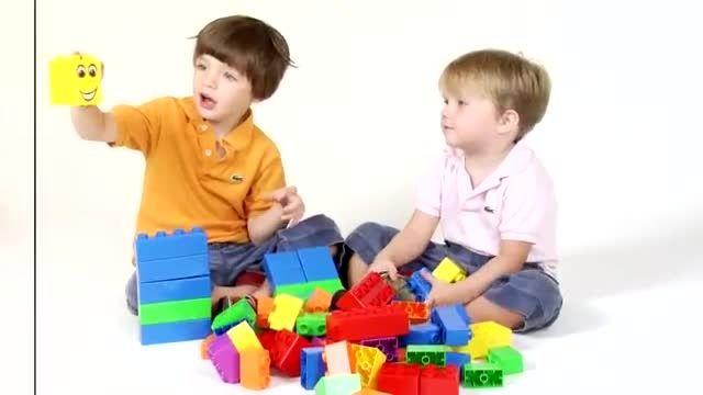 آموزش زبان آلمانی به کودکان. رنگ ها و شکل ها
