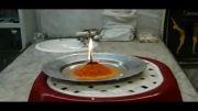 کلیپ تصویری از آزمایش فوران آتشفشانی – کلاس چهارم 1