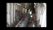 لوله گذاری خطوط انتقال نفت وگاز در زیر دریا
