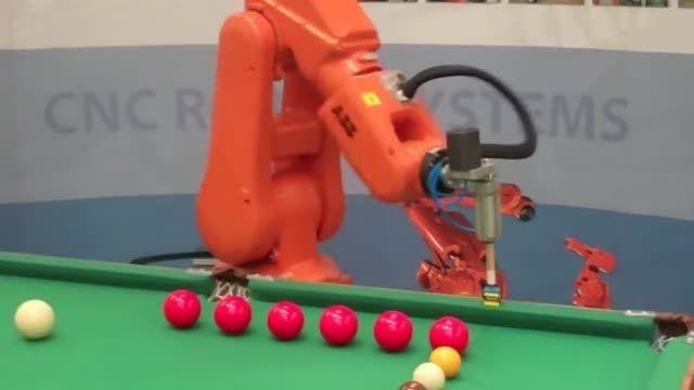 ربات بیلیاردباز - پورتال امروز آنلاین