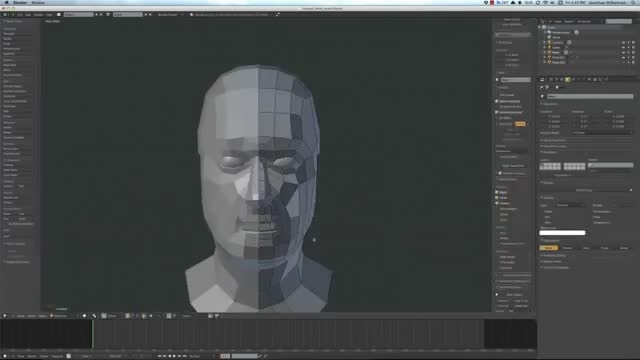 ۰۲ − سری آموزشی مدلینگ در Blender از CGCookie