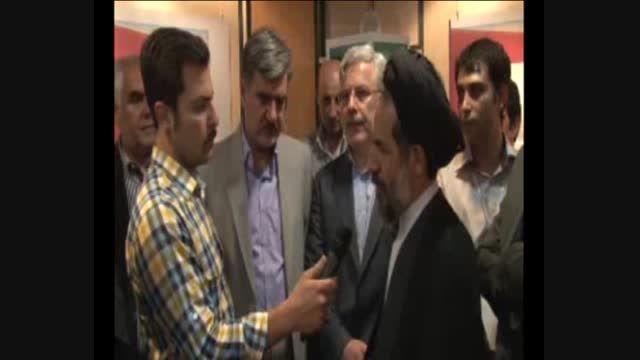مصاحبه نایب رئیس مجلس شورای اسلامی در نمایشگاه مجلس
