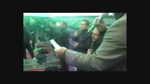 زنجیر زنی هیئت شهزاده علی اکبر سرابیهای صالحیه تهران
