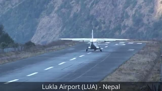 عجیب تربن و خطرناکترین فرودگاه های دنیا 1 - JUSTFLY.IR