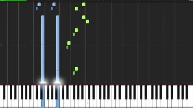 اهنگ پلنگ صورتی رو پیانو