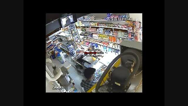 دزدی از سوپر مارکت کرج