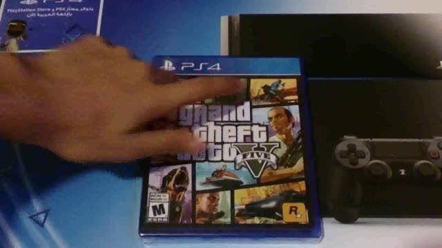 آنباکسینگ بازی GTA Vبرای PS4