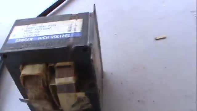 استفاده از ترانس مایکروفر برای ساخت دستگاه جوش نقطه
