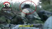 کشته شدن تروریست به دست تک تیرانداز ارتش سوریه