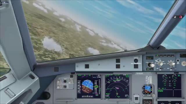 آموزش کامل پرواز با ایرباس 320 شبیه ساز پرواز قسمت 4