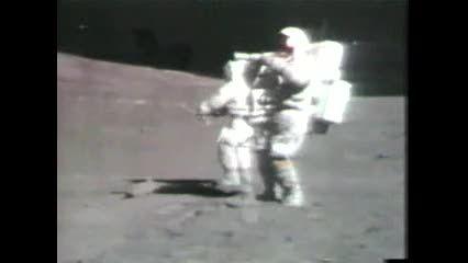 فضانوردان در ماه