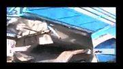 انفجار نیسان در جایگاه CNG