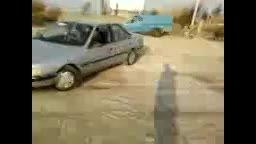 چرخیدن ماشین به دور خود