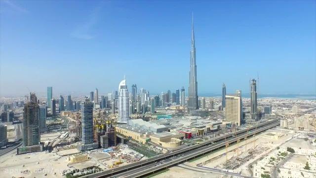 نمای زیبا از شهر دبی