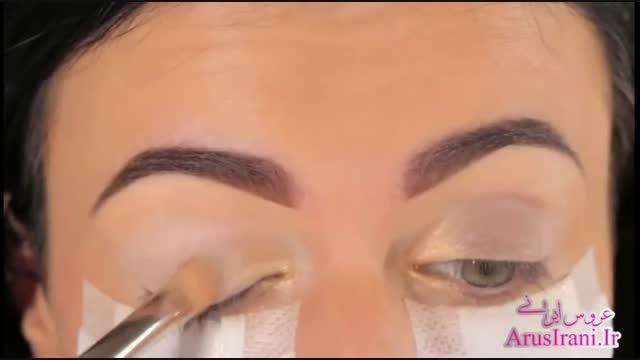آموزش کامل آرایش 14 - چشمان دودی