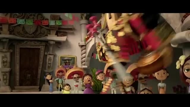 دانلود رایگان انیمیشن The Book of Life 2014