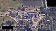 ترکوندن گروه داعش توسط هلیکوپترهای ارتش عراق!...