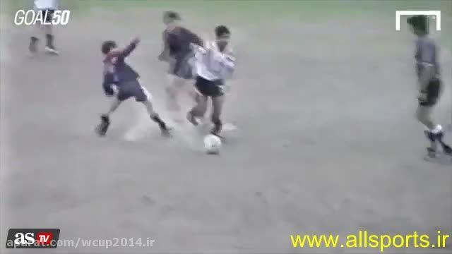 گل لیونل مسی در 12 سالگی