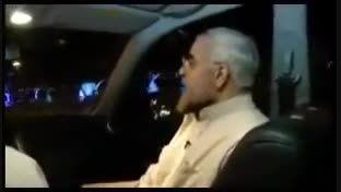 صحبت های خصوصی و جنجالی حسن روحانی در ماشین
