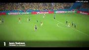 10 گل زیبای جام جهانی