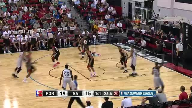 تریلر Portland Trail Blazers at San Antonio Spurs 2015