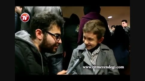 ویدئویی از پشت صحنه مهمانی رضا صادقی و طرفدارانش